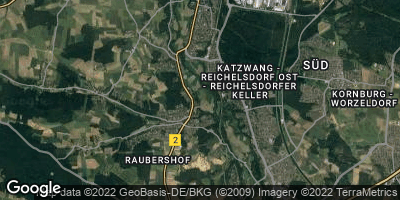 Google Map of Wolkersdorf