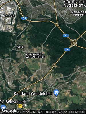 Google Map of Worzeldorf
