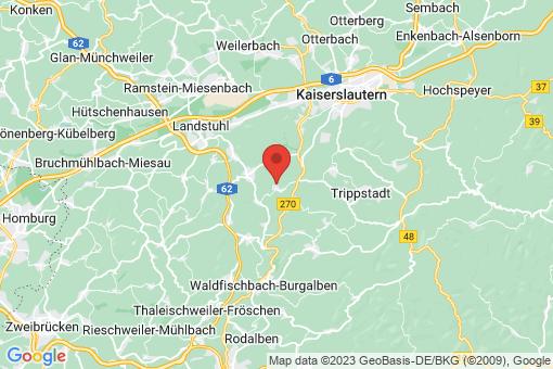 Karte Krickenbach