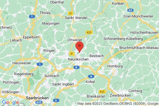 Karte Neunkirchen/Saar