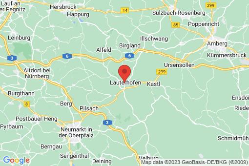 Karte Lauterhofen