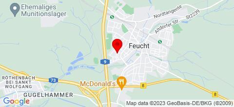 Google Map für Monteurzimmer Braun