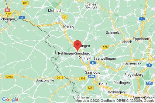 Karte Rehlingen-Siersburg