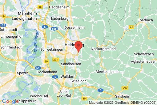 Karte Heidelberg