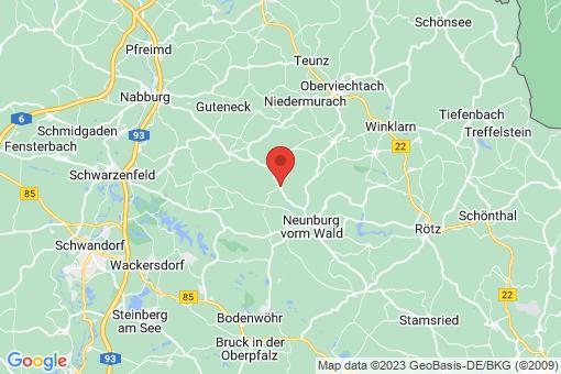 Karte Schwarzhofen