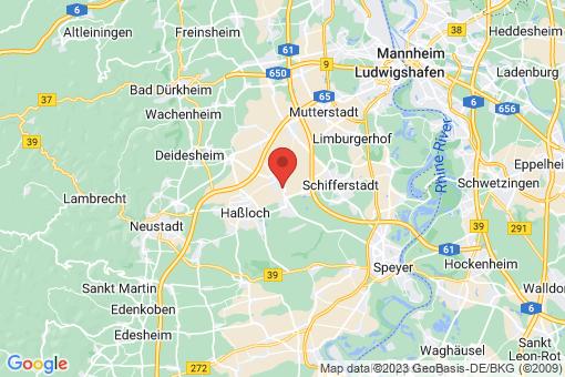 Karte Böhl-Iggelheim