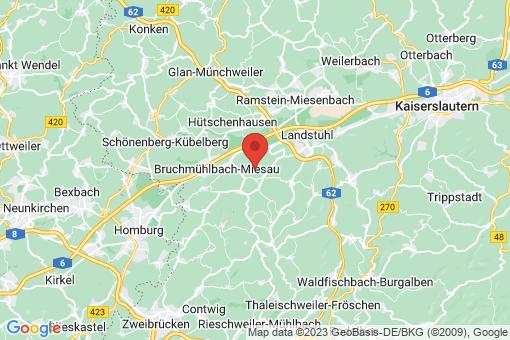 Karte Langwieden