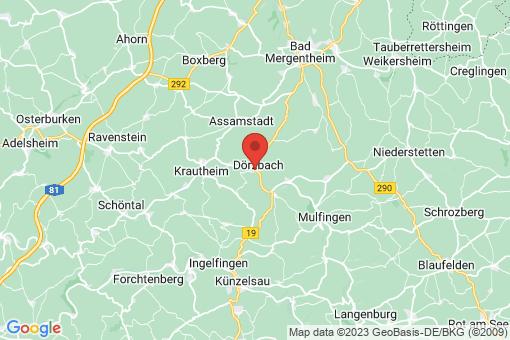 Karte Dörzbach