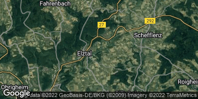 Google Map of Elztal