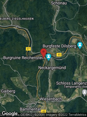 Google Map of Neckargemünd