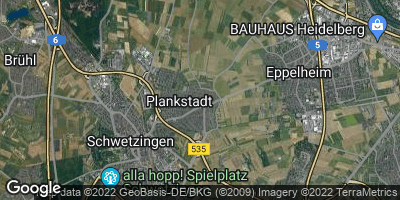 Google Map of Plankstadt