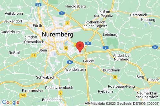 Karte Moorenbrunn