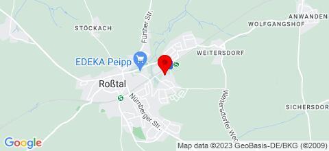 Google Map für XXL Deluxe Living 120qm 3,5 zimmer Wohnungen bis zu 8 Person 5 Stern**