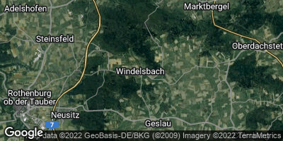 Google Map of Windelsbach