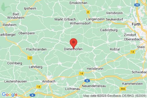 Karte Dietenhofen