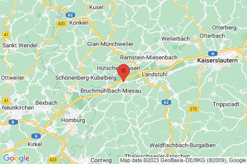 Karte Hauptstuhl