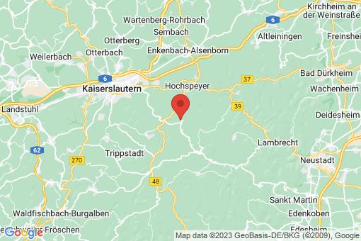 Karte Waldleiningen