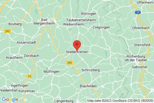 Karte Niederstetten