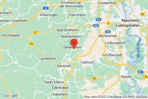 Karte Ruppertsberg
