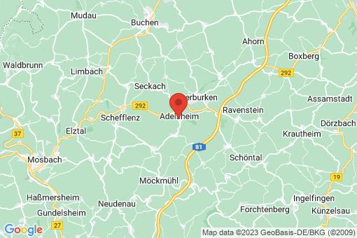 Karte Adelsheim