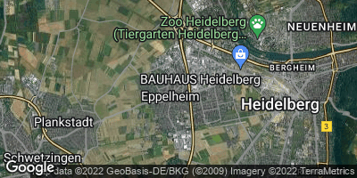 Google Map of Eppelheim