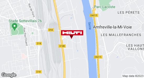 Get directions to Espace Hilti - La Plateforme du Bâtiment - Rouen