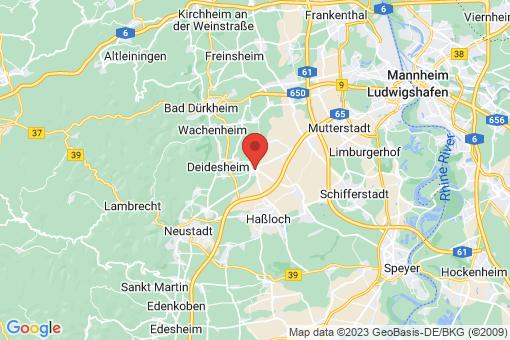 Karte Meckenheim