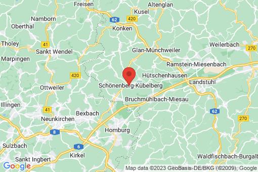 Karte Schönenberg-Kübelberg
