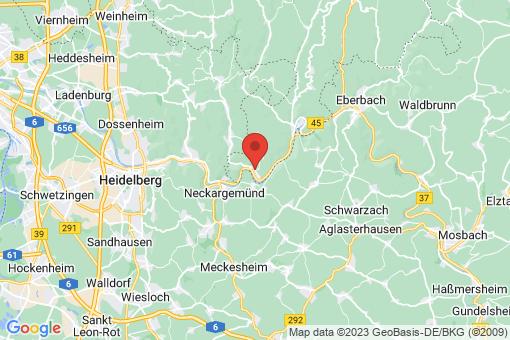 Karte Neckarsteinach