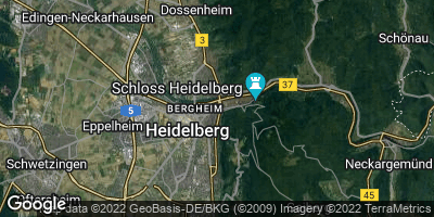 Google Map of Heidelberg