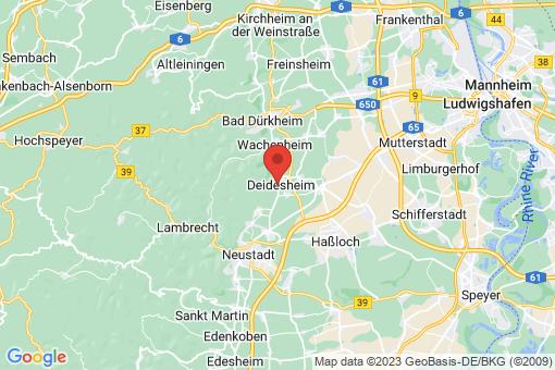 Karte Deidesheim