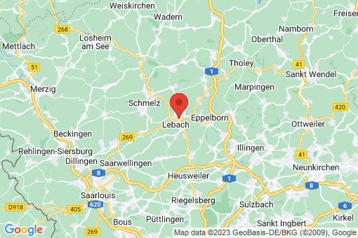 Karte Lebach