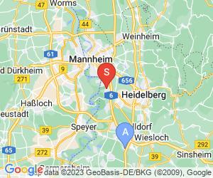 Karte für Wasserski- und Wakeboard-Anlage Mannheim Rheinau