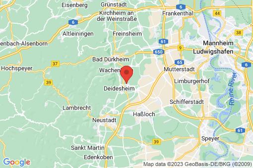 Karte Niederkirchen bei Deidesheim