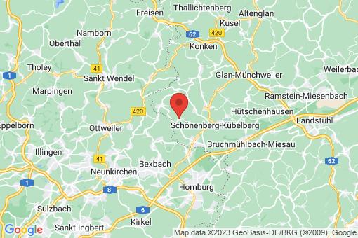 Karte Dunzweiler