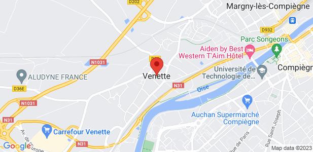 Achat/location terrains constructibles de 7,5 ha DIVISIBLES - Compiègne (60)