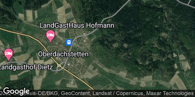 Google Map of Oberdachstetten