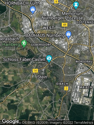 Google Map of Stein bei Nürnberg