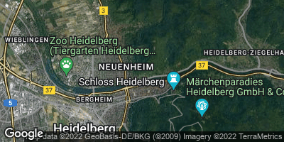 Google Map of Bergheim