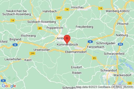 Karte Kümmersbruck