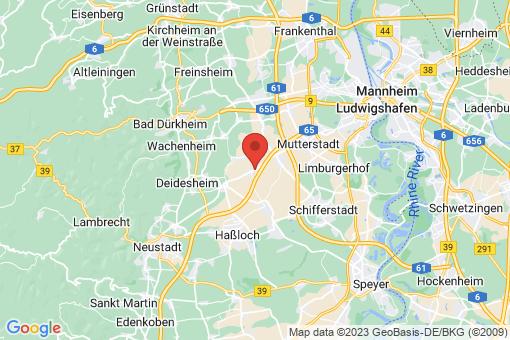 Karte Hochdorf-Assenheim