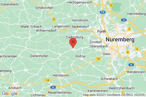 Karte Ammerndorf
