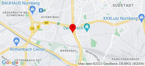 Google Map für Zimmer und Wohnungsvermietung