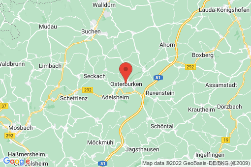 Karte Osterburken