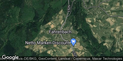 Google Map of Fahrenbach