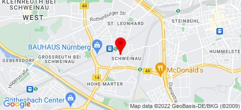 Google Map für neu renoviertes Appartement für Monteure