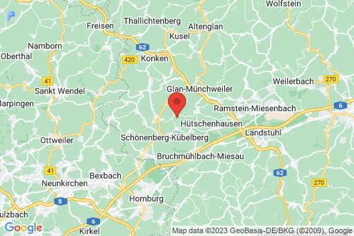 Karte Börsborn