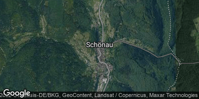Google Map of Schönau