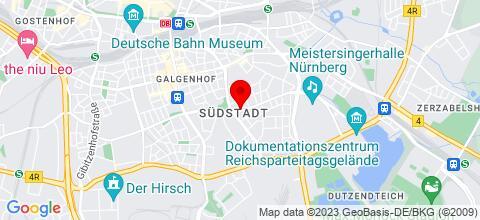Google Map für K.B. Immo-Service Baran UG