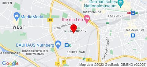 Google Map für West CITY Living